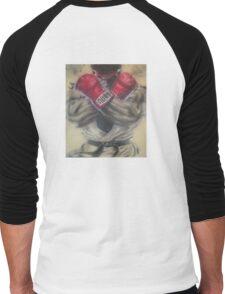 "airbrush ""Ryu"" Artwork Men's Baseball ¾ T-Shirt"