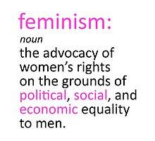 Feminism Defined by folieadeuxs