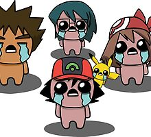 The Binding Of Isaac/Pokémon Crossover - Hoenn Group by Trick6