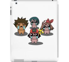 The Binding Of Isaac/Pokémon Crossover - Hoenn Group iPad Case/Skin