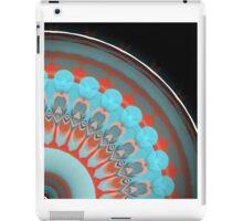 Coral Teal Summer Fan  iPad Case/Skin