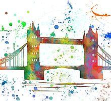 London Bridge, UK by Marlene Watson
