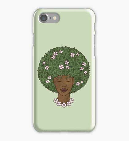 Natural Hair iPhone Case/Skin