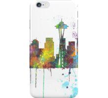 Seattle, Washington Skyline iPhone Case/Skin