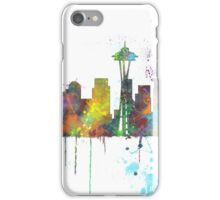 Seattle, Washington Skyline iPhone Case/Skin