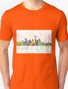 Seattle, Washington Skyline Unisex T-Shirt