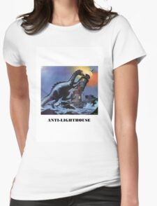 Anti-lighthouse Womens Fitted T-Shirt