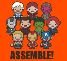 Earth's Mightiest Heroes Kids Clothes