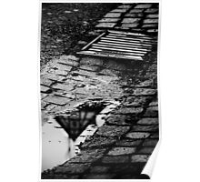 Street side Puddle Poster