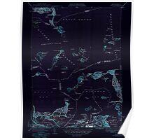Massachusetts  USGS Historical Topo Map MA Hull 351808 1946 31680 Inverted Poster