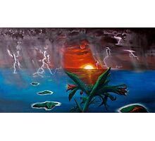 Nebuchadnezzar's Dream - 1996.  Oil and acrylic on canvas. Photographic Print