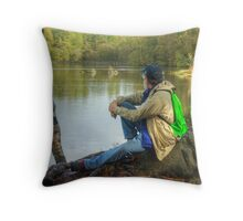 The Man From Hamburg,USA Throw Pillow