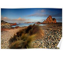 The Windswept Coast - Church Rock Poster