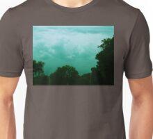 blue storm clouds Unisex T-Shirt