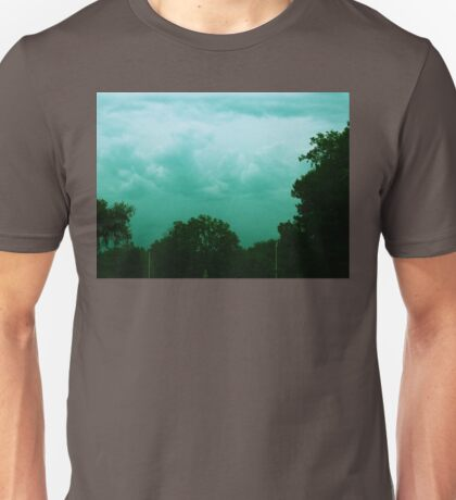 blue storm clouds Unisex T-Shirt