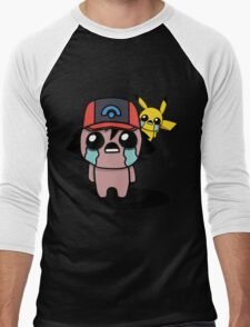 The Binding Of Isaac/Pokémon Crossover - Ash Ketchum and Pikachu (Sinnoh) T-Shirt