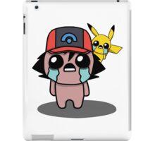 The Binding Of Isaac/Pokémon Crossover - Ash Ketchum and Pikachu (Sinnoh) iPad Case/Skin