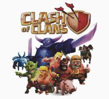 clash of clans Kids Clothes