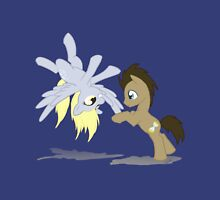 Derpy and Doctor Whooves Unisex T-Shirt
