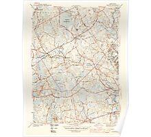 Massachusetts  USGS Historical Topo Map MA Norton 352009 1944 31680 Poster