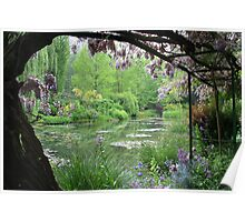 Monet's Garden (Giverny, France) Poster