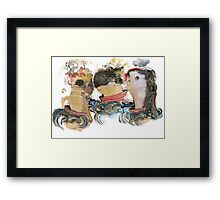Boat Party Framed Print