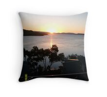 Sunset at Hamilton Island Throw Pillow