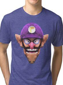 Triangle Waluigi Tri-blend T-Shirt