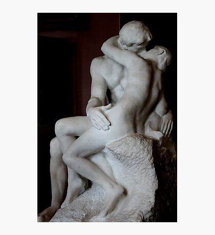 Eternal Embrace (Musee Rodin, Paris, France) Photographic Print