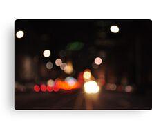 la trobe street | melbourne Canvas Print
