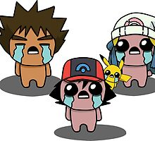 The Binding Of Isaac/Pokémon Crossover - Sinnoh Group by Trick6