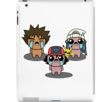 The Binding Of Isaac/Pokémon Crossover - Sinnoh Group iPad Case/Skin