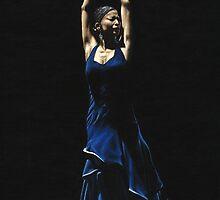 Bailarina a Solas del Flamenco by Richard Young