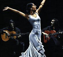 Finale del funcionamiento del flamenco by Richard Young