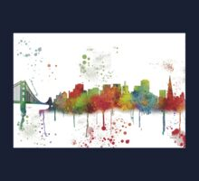 San Francisco, California Skyline  Kids Tee