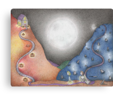 Trick or Treat 3 - Almost Home Canvas Print