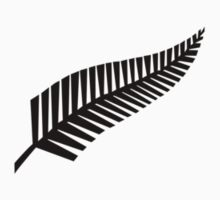 All Blacks New Zealand Fern by TaneCase