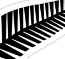All Blacks New Zealand Fern Sticker