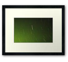 Green Aura Framed Print
