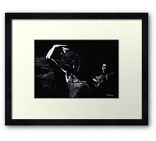 Flamenco Recital Framed Print