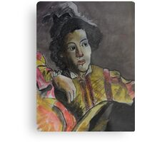 Postcard from Europe - a study of Caravaggio Metal Print