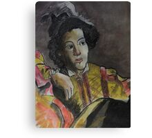 Postcard from Europe - a study of Caravaggio Canvas Print