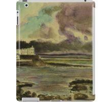 Storm approaching Portstewart, Northern Ireland iPad Case/Skin
