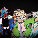 Evil monkey, Evil Michael by CivicWeapon