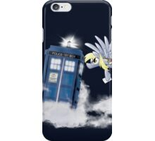 Derpy Tardis Delivery iPhone Case/Skin