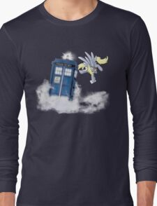 Derpy Tardis Delivery Long Sleeve T-Shirt