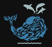 Blue Whale Kids Tee