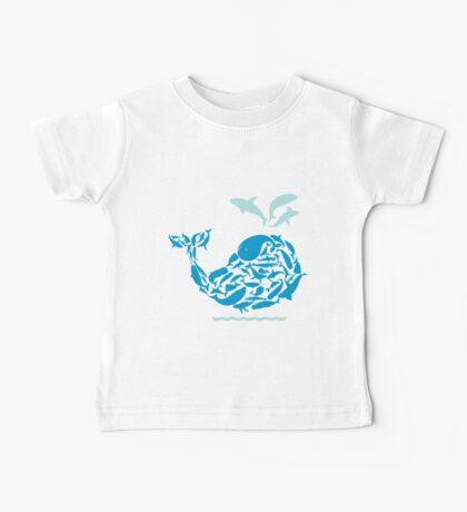 Blue Whale Baby Tee