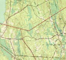 Massachusetts  USGS Historical Topo Map MA Fall River East 351684 1944 31680 Sticker