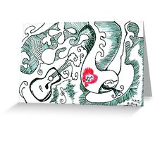 Muso Cafe Greeting Card